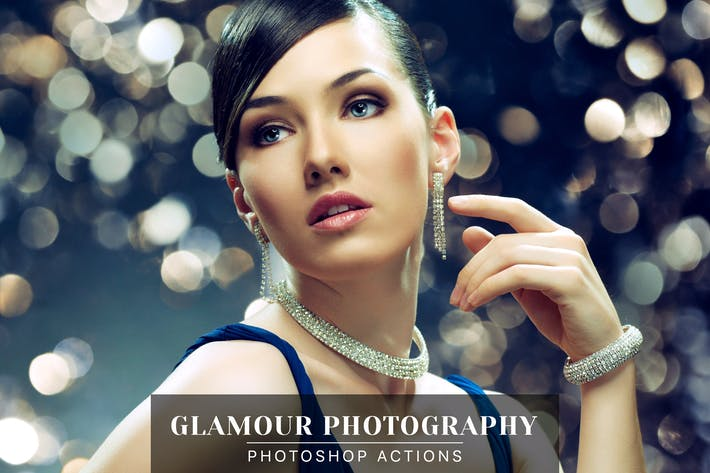 Thumbnail for Glamour Photography Photoshop Actions