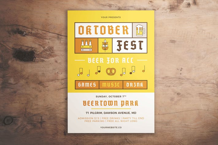 Thumbnail for Oktoberfest Event Flyer