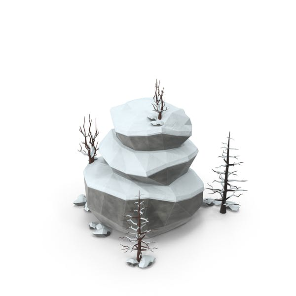 Thumbnail for Low Poly Snow Scene
