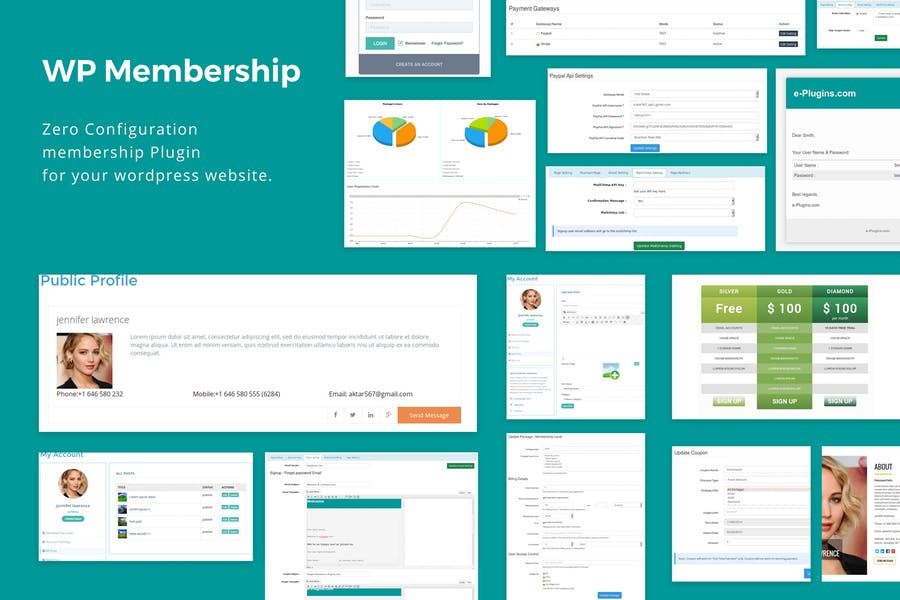 Fitness Trainer- Training Membership Plugin by e-plugins on Envato ...