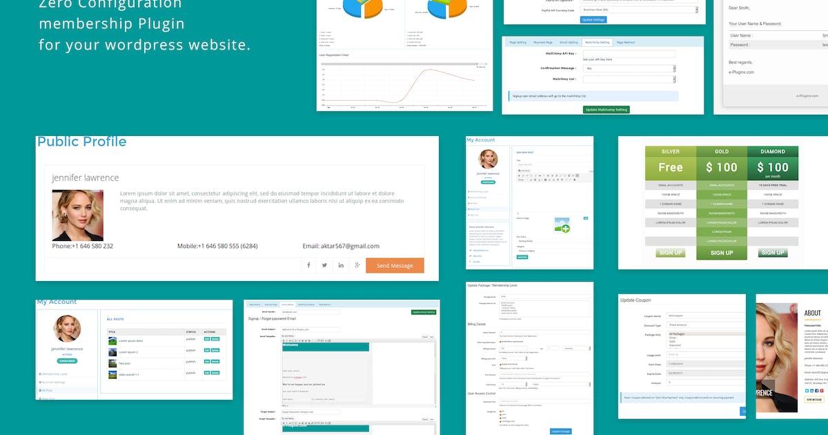 WP Membership by e-plugins