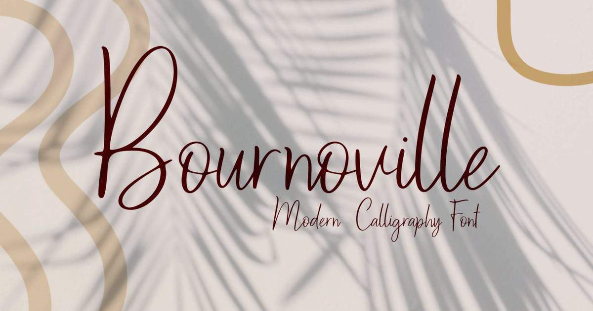 Download Bournoville by templatehere