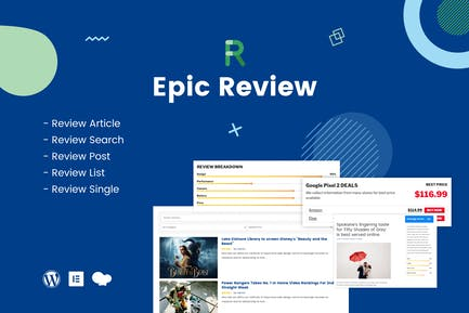 Epic Review - WordPress Plugin