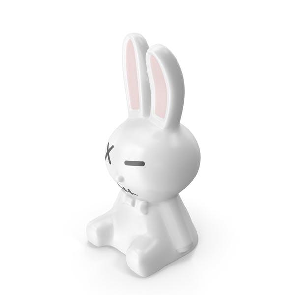 White Rabbit Statues
