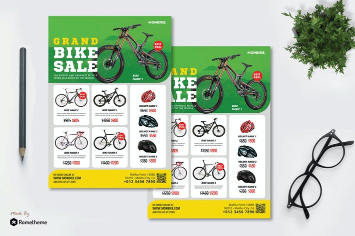 Thumbnail for Monbike - Product Flyer RB