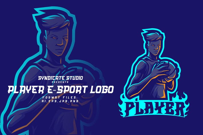 Thumbnail for PLAYER E-sport logo