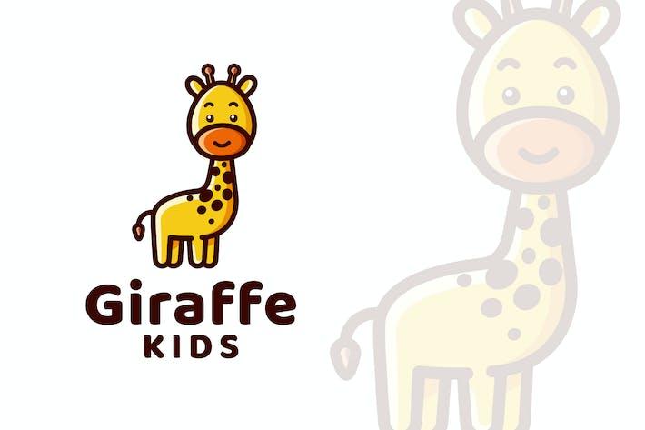 Thumbnail for Giraffe Kids Logo Template