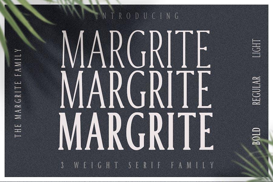 Margrite - Tall Con serifa Familia tipográfica