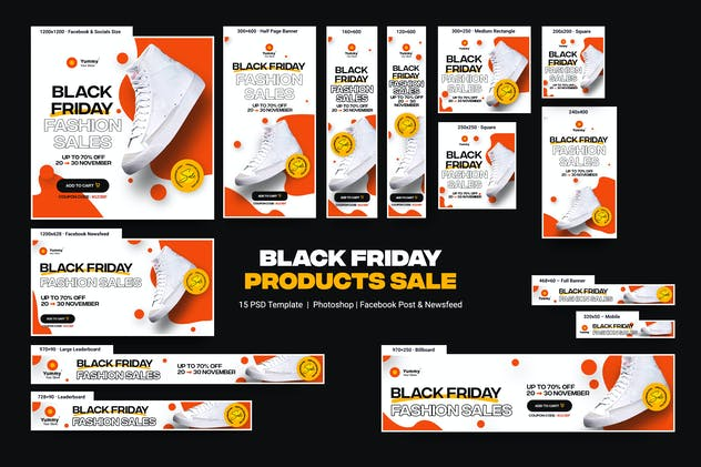 Black Friday Sale Banners Ad