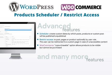 Products Scheduler / Restrict Access
