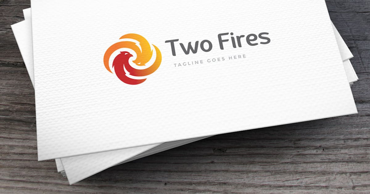 Download Two Fires Logo Template by empativo