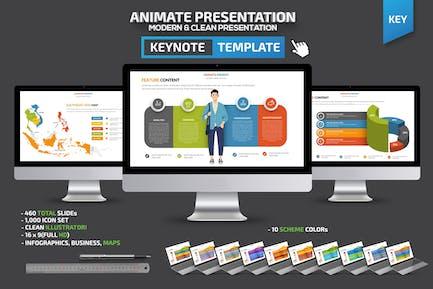 Animate Keynote Presentation Template