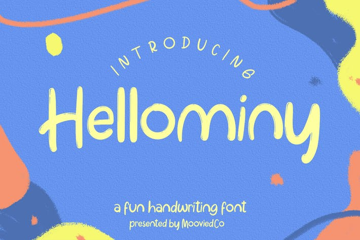 Thumbnail for Hellominy Highlight Kids Font