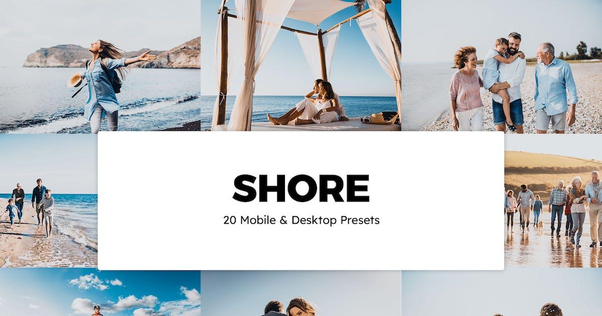 Download 20 Shore Lightroom Presets & LUTs by sparklestock