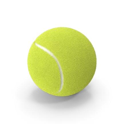 Реалистичный теннисный мяч