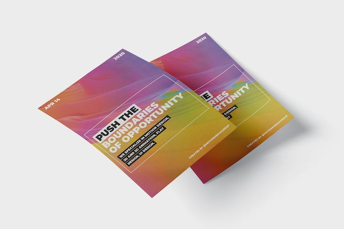 Thumbnail for Colorful Poster Template
