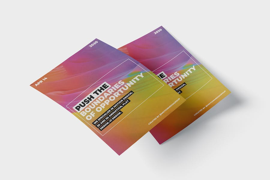 Colorful Poster Template