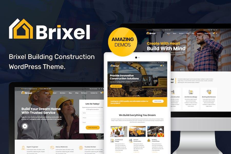 Brixel Building Construction WordPress Theme
