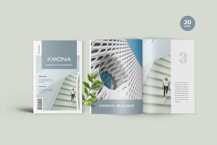 Thumbnail for Kmona - Furniture Magazine Template