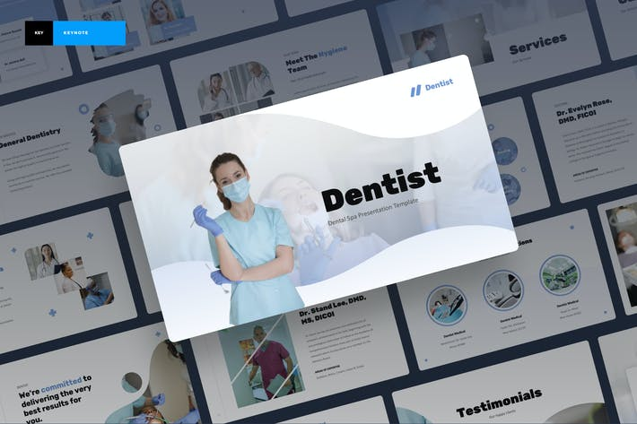 Dentist - Dental Spa Keynote Presentation