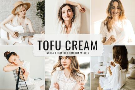Tofu Cream Mobile & Desktop Lightroom Presets