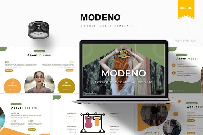 Modeno | Google Slides Template