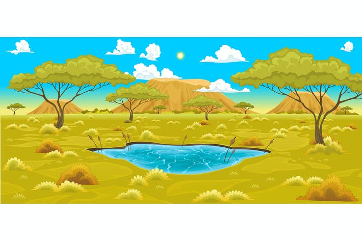 Thumbnail for African Landscape