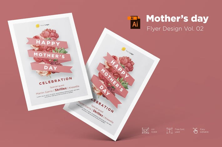 Thumbnail for Mother's Day Flyer Design Vol.02