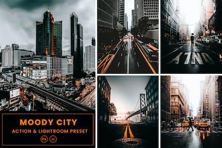 Moody City Action & Lightrom Presets