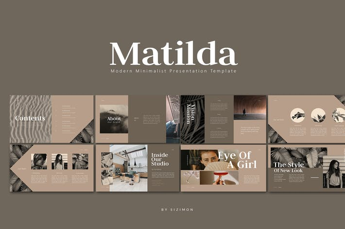 Thumbnail for Matilda Presentation - Powerpoint