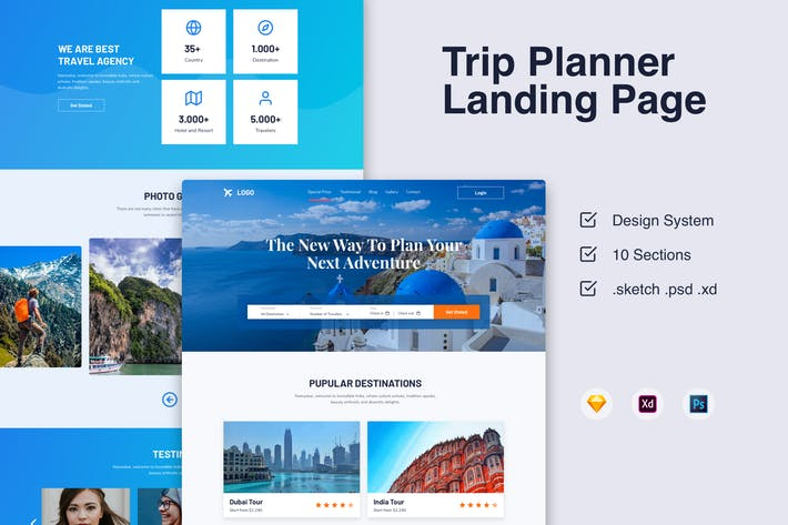 Tour Landingpage