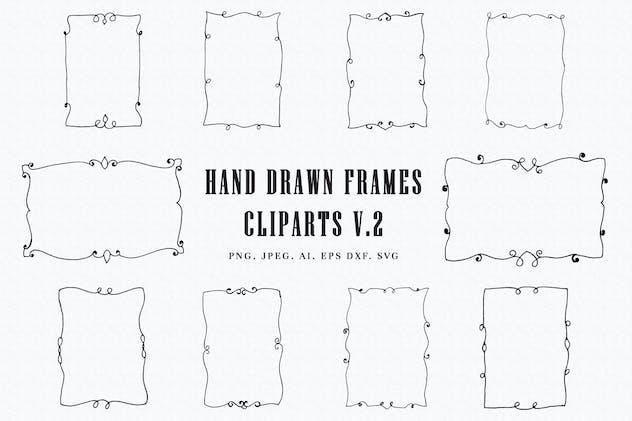 Handmade Frames Cliparts Ver. 2