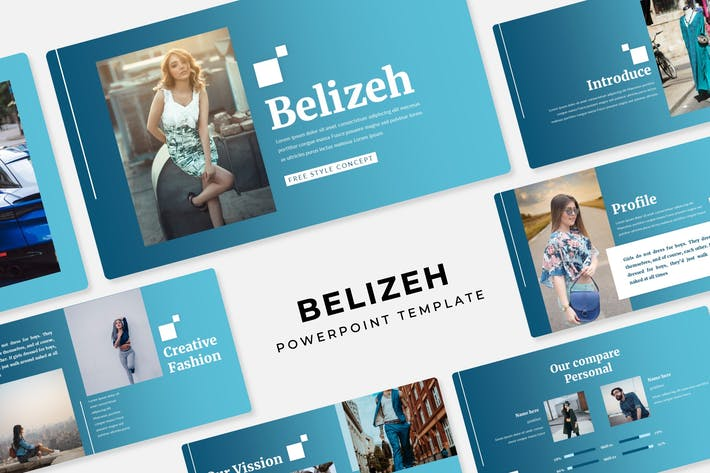 Thumbnail for Belizeh - PowerPoint Template