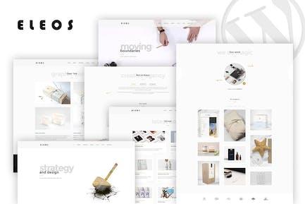 Eleos - One-Page Creative WordPress Theme
