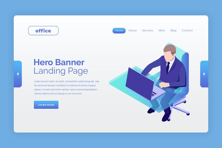 Thumbnail for Office - Hero Banner Landing Page