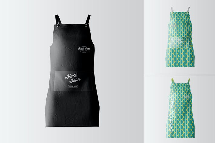 Thumbnail for Restaurant and Home Kitchen Apron Mockup-05