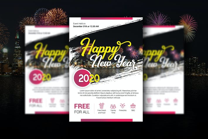 Thumbnail for Happy New Year Flyer