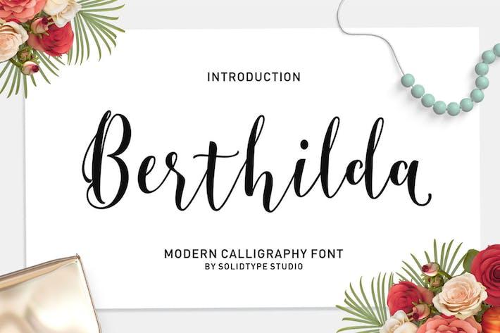 Thumbnail for Berthilda Script
