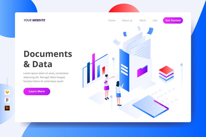 Thumbnail for Documents & Data - Landing Page