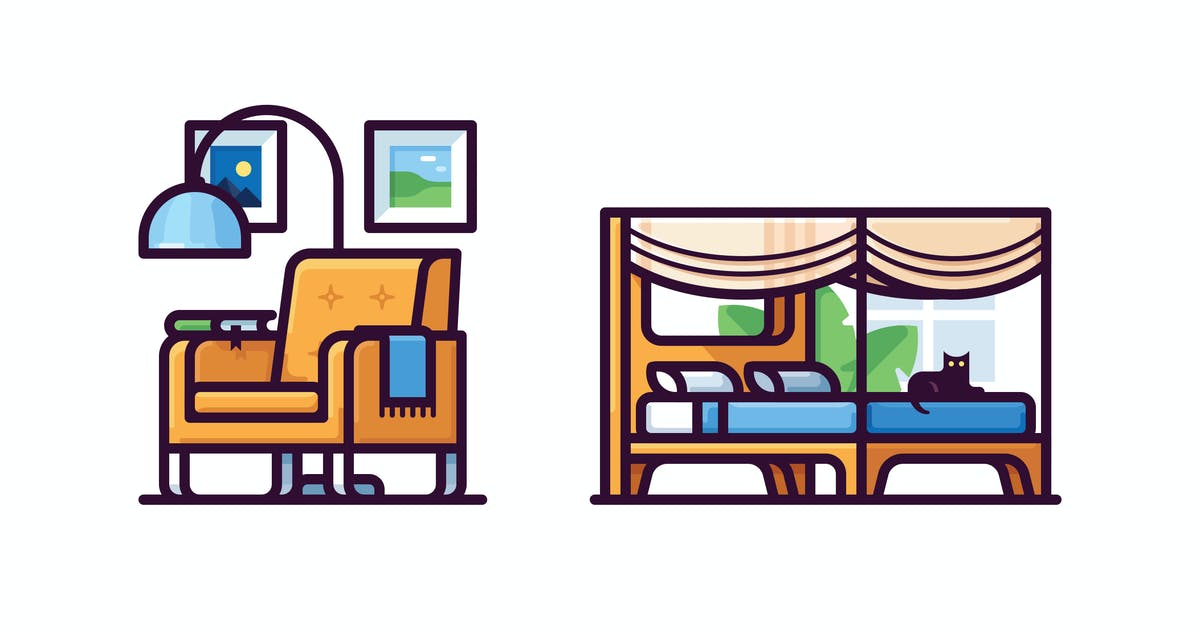 Download Furniture icons by mir_design