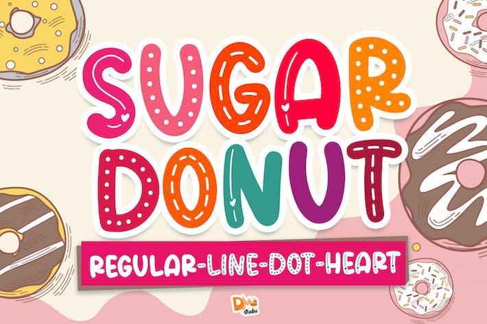 Thumbnail for Sugar Donut Crafty Font