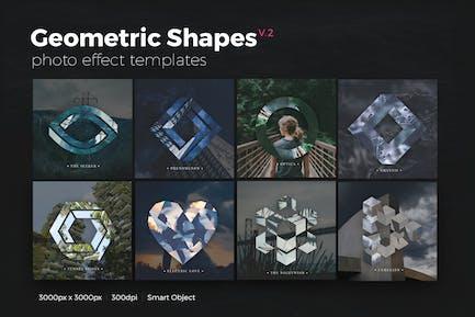 Geometric Shapes Photo Templates v2