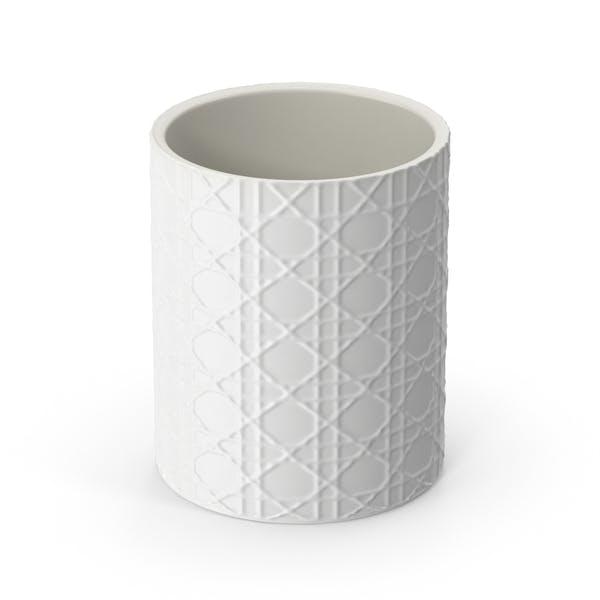 Thumbnail for White Pisa Waste Basket