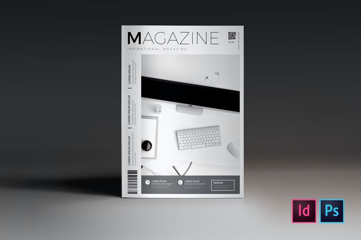 Cover Image For Creative Magazine Cover Template