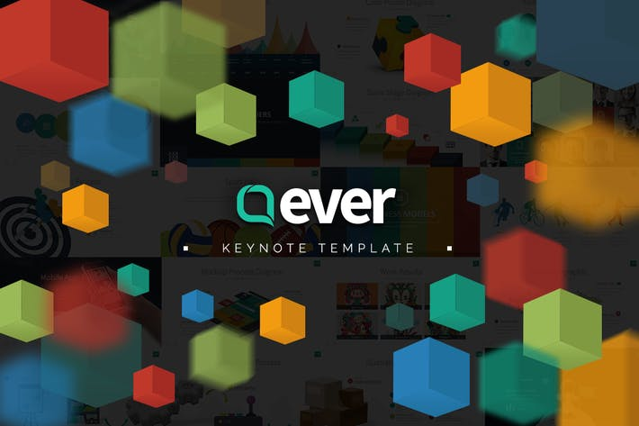 Thumbnail for Ever Keynote Template