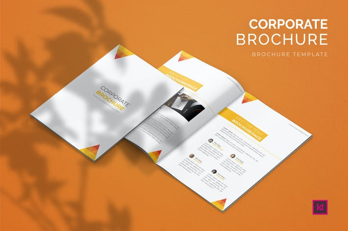 Thumbnail for Corporate Design - Brochure Template