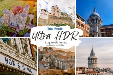 Пресеты Ultra HDR Lightroom