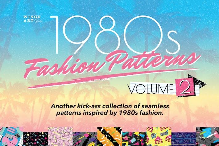Thumbnail for 1980s Retro Patterns Volume Two