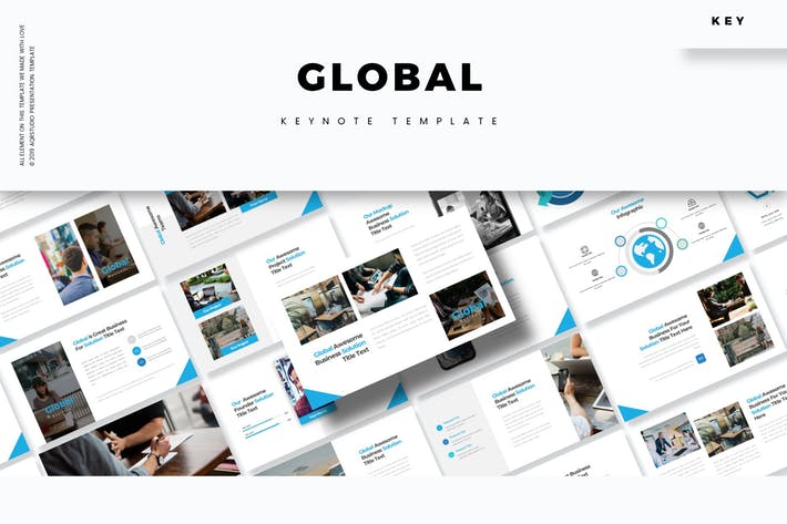 Thumbnail for Global - Keynote Template