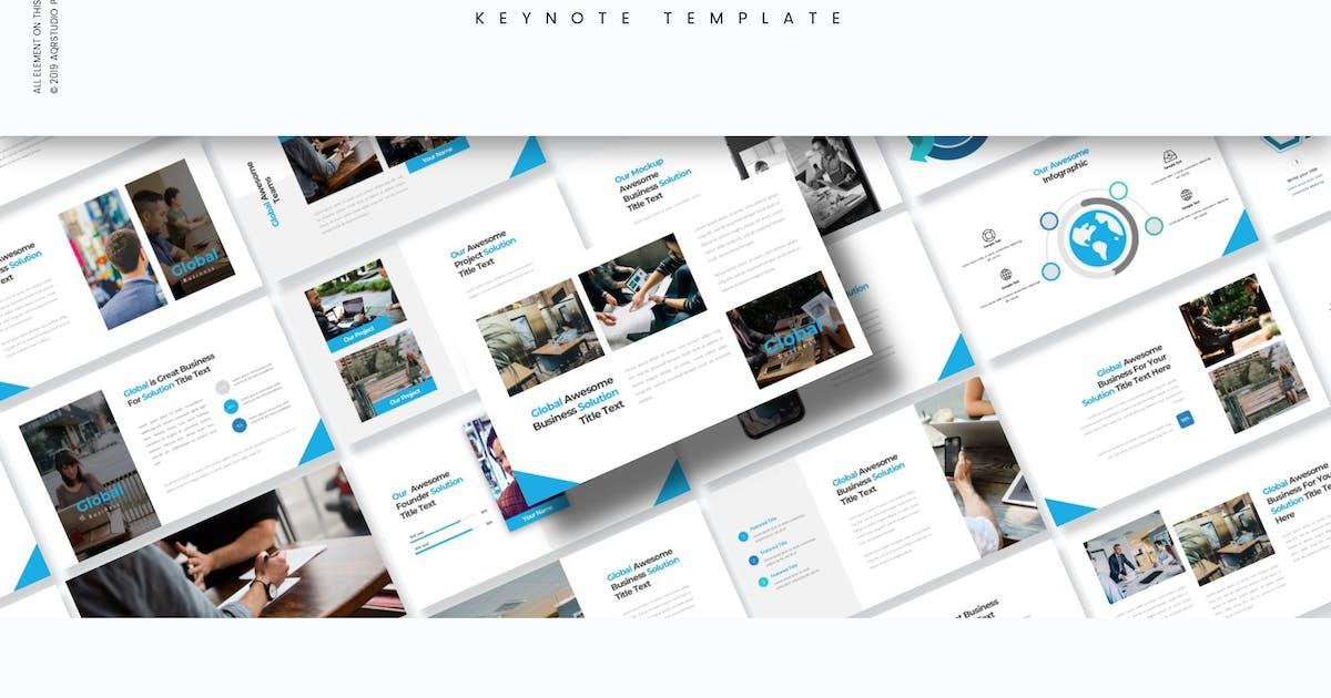 Download Global - Keynote Template by aqrstudio